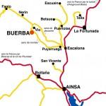 Se rendre à Buerba