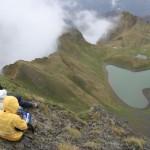 Lac de verrou glaciaire