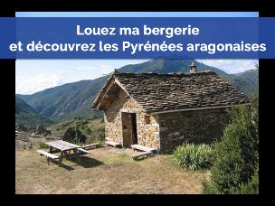 La bergerie de Gérard Caubet en Aragon