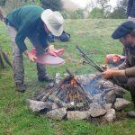 grillades au feu de bois
