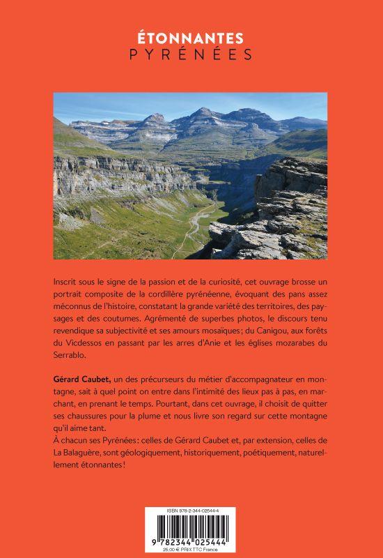 Étonnantes Pyrénées nouvelle édition verso