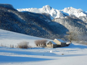 Plateau du Benou, novembre 1903, le ski pyrénéen fait ses débuts.